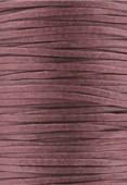 Coton ciré plat Haute Fantaisie 1.50x0.60 mm bordeaux x 1m
