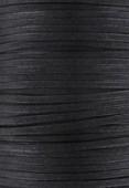 Coton ciré plat Haute Fantaisie 1.50x0.60 mm noir x 1m