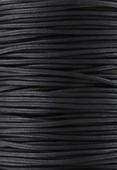 Coton ciré Haute Fantaisie 1.90 mm noir x1m