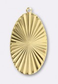 Estampe pendentif Versailles 45x27 mm or x1