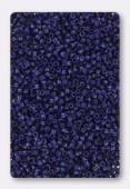 Miyuki Delica 11/0 DB2144 matted opaque deyd cobalt x10g