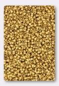 Miyuki Delica 11/0 DB0331 metallic bright yellow gold matted x 5g