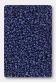 Miyuki Delica 11/0 DB2143 matted opaque deyd navy blue x10g