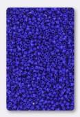 Miyuki Delica 11/0 DB0726 opaque dark blue x10g