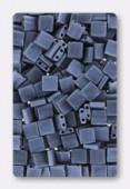 Miyuki Tila Beads TL-2001 matted gunmetal x10g