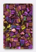Miyuki Tila Beads TL-0301 rose gold luster x10g