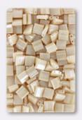 Miyuki Tila Beads TL-0593 light caralmel ceylon x10g
