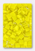 Miyuki Tila Beads TL-0404 opaque yellow x10g
