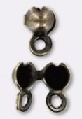 Cache noeud 3 mm bronze x10