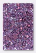 Miyuki Half Tila Beads HTL-0316 light amethyst gold luster x10g