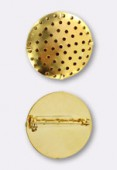 Broche tamis 29 mm or x1