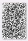 Anneau brisé 6 mm argent x20
