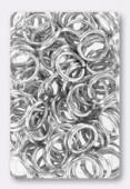 Anneau brisé 10 mm argent x12