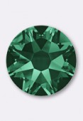 Strass 2058 SS10 3 mm emerald F x50