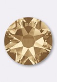 Strass Preciosa SS10 3 mm crystal golden honey HF x50