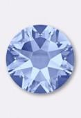 Strass 2058 SS10 3 mm light sapphire F x50