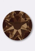 Strass 2088 SS34 7 mm smoked topaz F x12