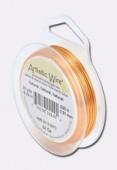 Fil de cuivre Artistic Wire 0.51 mm cuivre naturel x18.20m