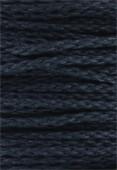 Coton ciré 5 brins Haute Fantaisie 4 mm marine x1m