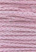 Coton ciré 5 brins Haute Fantaisie 4 mm rose x1m