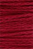 Coton ciré 5 brins Haute Fantaisie 4 mm rouge x1m