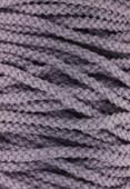 Coton ciré 5 brins Haute Fantaisie 4 mm violet x1m