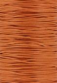 Coton ciré Haute Fantaisie 1.2 mm orange x1m