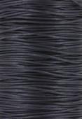 Coton ciré Haute Fantaisie 1.2 mm bleu fonçé x1m