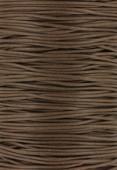 Coton ciré Haute Fantaisie 1.2 mm camel x1m