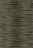 Coton ciré Haute Fantaisie 1.2 mm khaki x1m