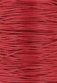 Coton ciré Haute Fantaisie 1.2 mm rouge x1m