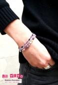 Bracelets en fil de soie