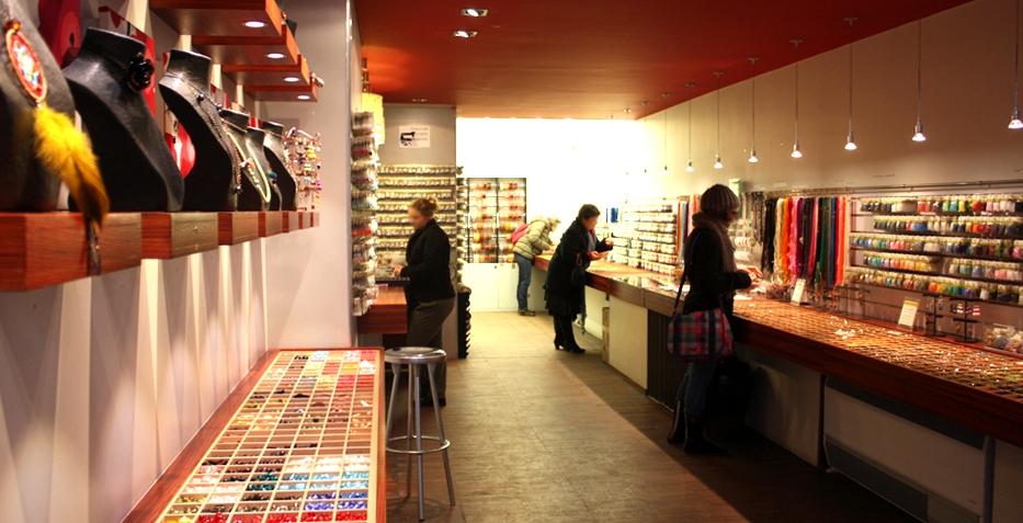 La boutique Matière première