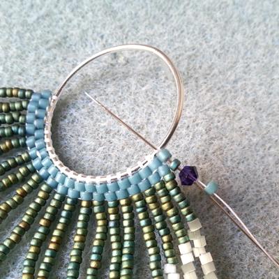 10 boucles d'oreilles crocus atelier matiere premiere