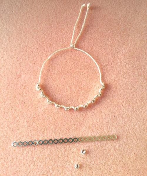 11 bracelets dentelle atelier matiere premiere
