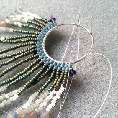11 boucles d'oreilles crocus atelier matiere premiere