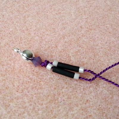 15 bracelets en fil de soie atelier matiere premiere
