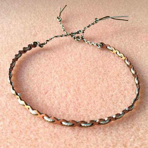 15 bracelets dentelle atelier matiere premiere