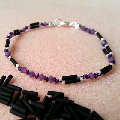 15a bracelets en fil de soie atelier matiere premiere