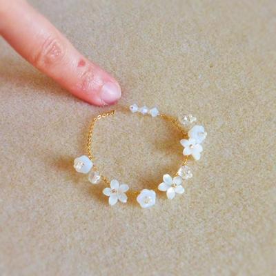18 bracelet jardin secret atelier matiere premiere