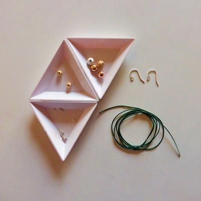 21 boucles d'oreilles macramé atelier matiere premiere