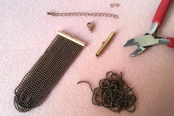 1 bracelet nœud atelier matiere premiere