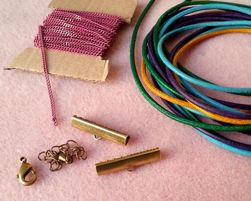 1 bracelet croisette atelier matiere premiere