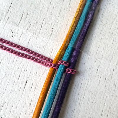 3a bracelet croisette atelier matiere premiere
