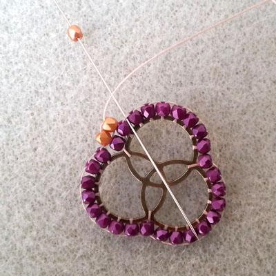 4a boucles d'oreilles brick stitch atelier matiere premiere