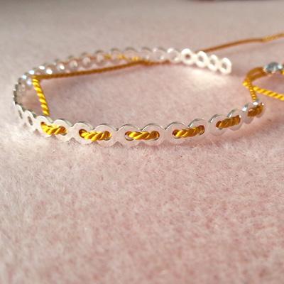 5 bracelets dentelle atelier matiere premiere