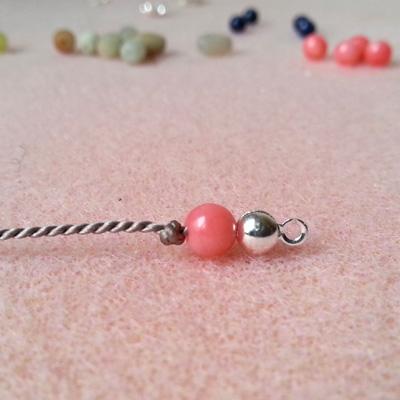 5a bracelets en fil de soie atelier matiere premiere