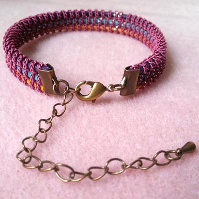 6a bracelet croisette atelier matiere premiere