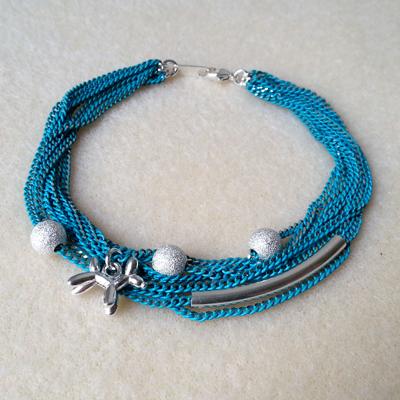 8 bracelet turquoise atelier matiere premiere