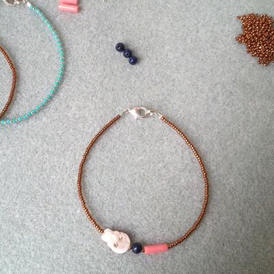 10 Bracelets Rainbow atelier matiere premiere